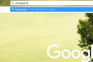 Thủ thuật xử lý lỗi gõ tiếng Việt trên thanh địa chỉ Google Chrome