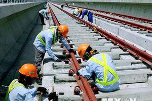 Tháng 4 trên công trường dự án Metro số 1 Bến Thành-Suối Tiên