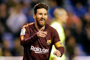 Xem Messi tỏa sáng rực rỡ đưa Barcelona vô địch La Liga trước 4 vòng đấu