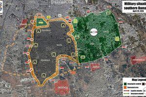 Quân đội Syria chiếm 1/3 tử địa Yarmouk, nhóm nổi dậy ở Damascus đầu hàng