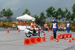 Honda Việt Nam hỗ trợ đào tạo CSGT nâng cao kỹ năng lái xe