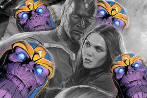 'Infinity War': Vision và Scarlet Witch bị đuổi cùng giết tận vì 'chơi' đá Tâm Trí một mình