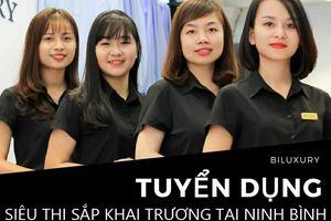 Biluxury tuyển dụng 6 nhân sự làm việc tại Ninh Bình