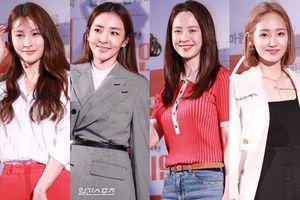 Song Ji Hyo, Sandara cùng các thành viên KARA, Wonder Girls khoe sắc tại buổi ra mắt phim 'Champion'
