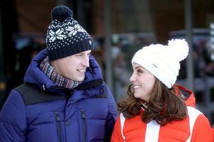 Những khoảnh khắc ngọt ngào của Hoàng tử William và Công nương Kate