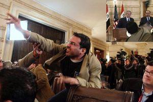 Nhà báo Iraq từng ném giày vào cựu tổng thống Mỹ ra tranh cử