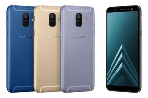 Samsung chính thức giới thiệu Galaxy A6/A6+