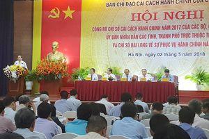 Cải cách hành chính 2017: Quảng Ninh đứng đầu, Quảng Ngãi xếp cuối
