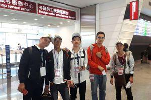 Đoàn sinh viên đầu tiên của Đại học Hà Tĩnh sang Đài Loan thực tập theo chương trình liên kết