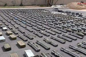 QĐ Syria tịch thu kho vũ khí 'khủng' của phiến quân ở Homs