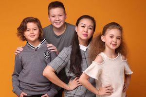 Siêu mẫu Ngọc Nga: Gia đình là sự nghiệp lớn nhất của tôi