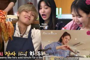 Sao Hàn vào bếp: tìm kiếm 'thánh hậu đậu của năm' với muôn vạn biểu cảm khó đỡ