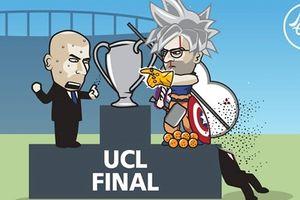 Biếm họa 24h: 'Cuộc chiến vô cực' ở chung kết Champions League