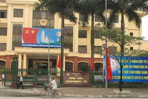 Tạm đình chỉ công tác một chủ tịch phường ở quận Nam Từ Liêm