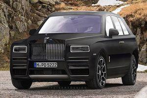 SUV siêu sang Rolls-Royce Cullinan sẽ ra mắt vào 10/5