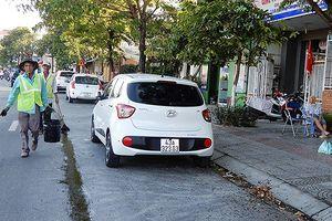 Đà Nẵng: Xóa vạch đậu đỗ xe trên đường để ép ô tô vào bãi có thu phí?