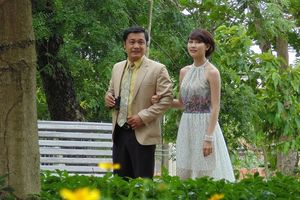 Lý Hùng, Ngân Khánh đóng cặp trong 'Mỹ nhân Sài thành'