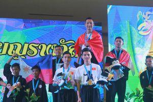 Việt Nam giành 3 HCV tại Giải Pencak Silat trẻ thế giới 2018