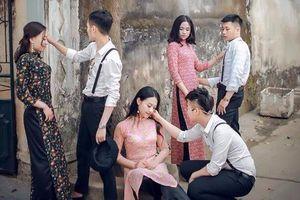 Teen Thanh Hóa chụp ảnh kỷ yếu phong cách 'Cô Ba Sài Gòn'