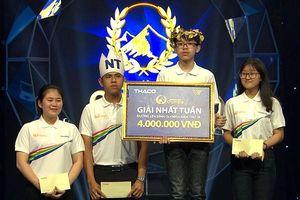 Nam sinh Hà Nội từ đi xem đến giành vòng nguyệt quế Olympia