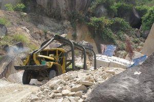 Tai nạn lao động tại mỏ đá, một người thiệt mạng