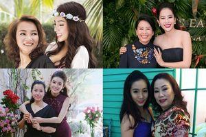 Những bà mẹ của sao Việt mạnh mẽ cùng con đương đầu với 'bão' scandal