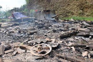 Thảm án ở Cao Bằng: Chém chết 4 người, đốt nhà nạn nhân