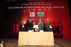 Lí do 'đặc biệt' để giải VĐQG 2018 có tên Nuti Cafe V.League