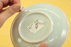 Mẹo gỡ sạch nhãn dán trên đồ dùng chỉ mất chưa đầy một phút