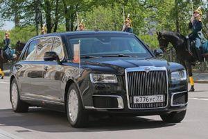 Cận cảnh siêu xe chống đạn mới của Tổng thống Nga Putin