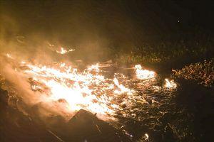 Bãi đốt phế thải ô nhiễm nghiêm trọng ở Bắc Ninh, chính quyền nói gì?