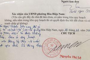 Buộc thôi việc một cán bộ giả chữ ký lãnh đạo phường tại Đà Nẵng