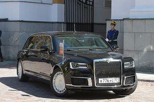 Ngắm siêu xe nội địa mới cứng của ông Putin trong lễ nhậm chức