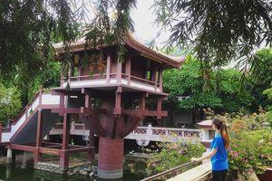Không chỉ Hà Nội, ngay gần Bình Dương cũng có ngôi chùa một cột đẹp nức lòng!