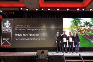 Khu đô thị Mizuki Park nhận liên tiếp 2 giải thưởng quốc tế tại Asia Property Awards 2018