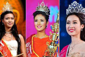 Lật lại 'bí ẩn' vương miện Hoa hậu Việt Nam qua 15 cuộc thi