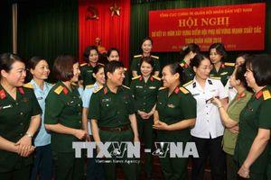 Một năm xây dựng điểm Hội phụ nữ vững mạnh xuất sắc trong toàn quân