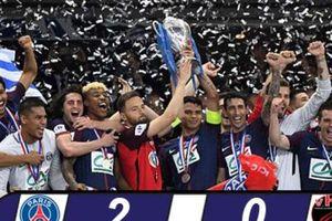 PSG giành cúp Quốc gia mùa thứ 4 liên tiếp