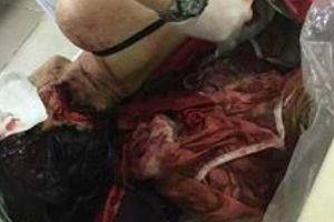 Chồng chém vợ gục trên vũng máu ở Phú Thọ
