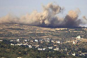 Lực lượng Iran ở Syria tấn công trực tiếp Israel bằng hàng chục tên lửa