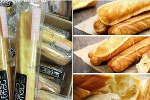 Thực hư thông tin bánh mì que ngàn lớp hàng Trung Quốc 6 tháng không hỏng?