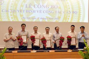 Hà Nội bổ nhiệm 5 Phó giám đốc Sở, Ban quản lý dự án