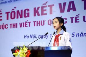 Gặp gỡ cô học trò đa tài đoạt giải nhất quốc gia viết thư UPU lần thứ 47