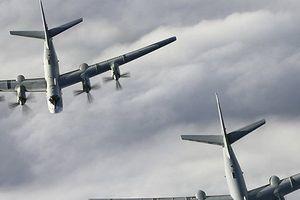 Máy bay tàng hình Mỹ bất ngờ chặn 2 'gấu bay' Tu-95 của Nga ở Alaska