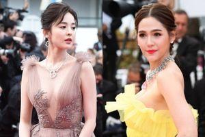 Mỹ nữ Tân Cương và giai nhân Thái Lan gợi cảm trên thảm đỏ LHP Cannes