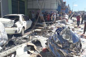 Xe tải tông 5 người chết lao với tốc độ gần 100 km/h