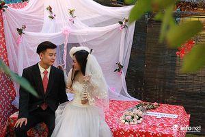 Đám cưới cổ miền Bắc những năm 80-90 bất ngờ xuất hiện giữa Thủ đô