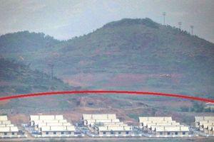 Hé lộ hình ảnh Triều Tiên xây dựng khu nhà mới gần biên giới Hàn Quốc