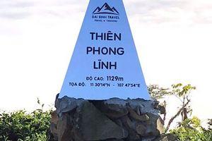 Tự đặt bia núi Trung Quốc trên đất Việt