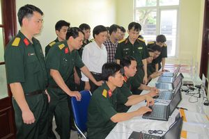 Thêm động lực nghiên cứu, ứng dụng công nghệ thông tin trong quân đội